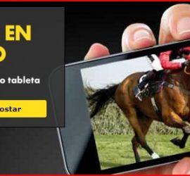 Carreras de caballos en móvil