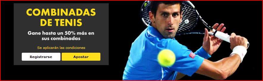 promocion de combinadas de tenis en bet365